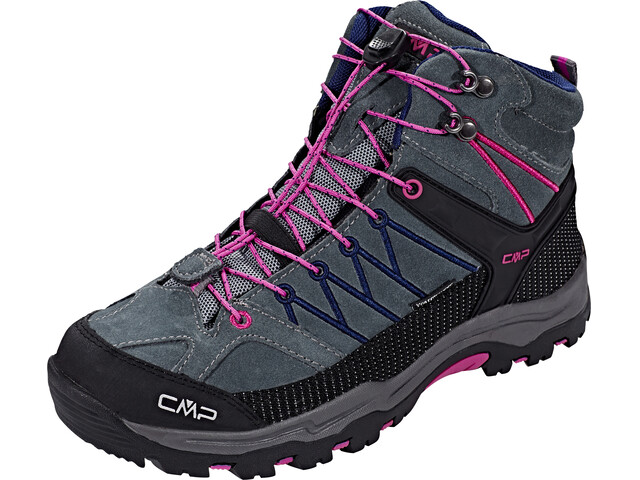CMP Campagnolo Rigel Mid WP Trekking Shoes Junior grey-hot pink